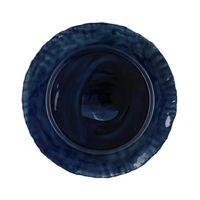 sousplat ceramica azul