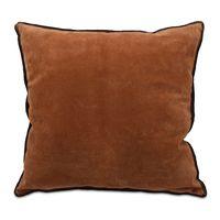 almofada-candeias-couro-camurca-chocolate-cafe-luhome-frente