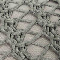 Almofada retangular cinza