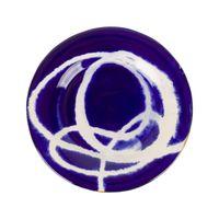 Prato cerâmica azul