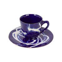 Xícara de Chá azul