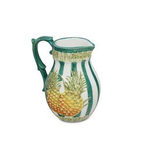 Jarra abacaxi cerâmica