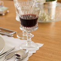 Taça de vinho cristal