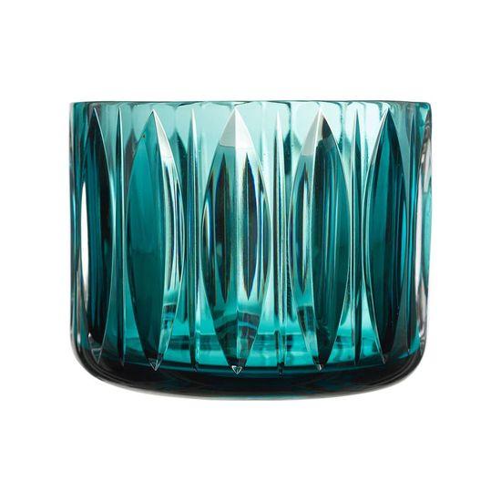 vasos de murano verde