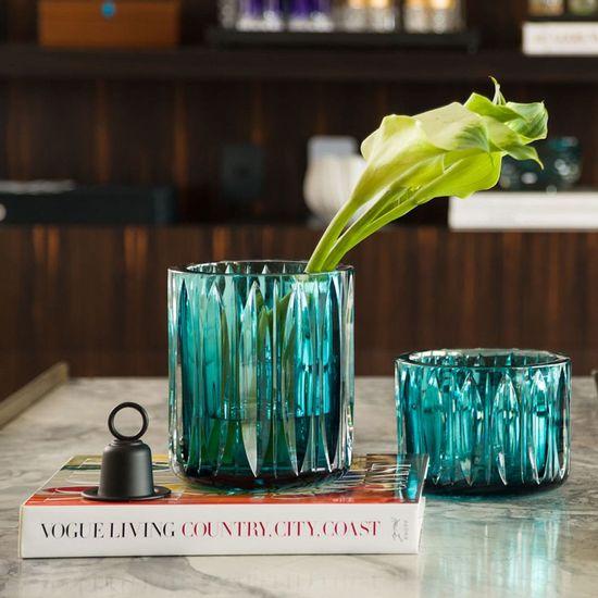 vaso de murano verde