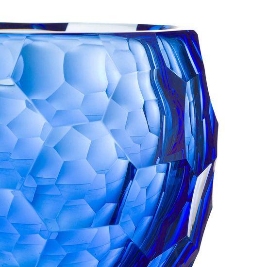 vaso murano azul