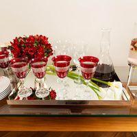 taça de vinho vermelha