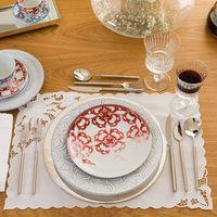 prato porcelana branco