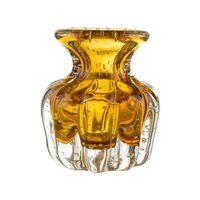 vaso murano ambar