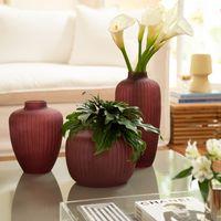 Vasos decorativo  marsala