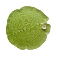 travessa folha verde bordallo pinheiro