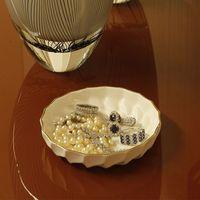 porta joias de porcelana